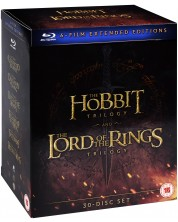 The Hobbit + The Lord of the Rings - 30-disc Extended Editions Collection (Blu-Ray)