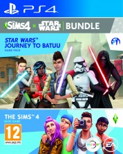 The Sims 4 + Star Wars - Journey to Batuu Expansion Pack Bundle (PS4)