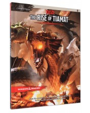 Ролева игра Dungeons & Dragons - Tyranny of Dragons:The Rise of Tiamat Adventure (5th Edition) -1