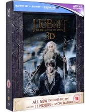 The Hobbit: The Battle Of The Five Armies - Extended Edition - 3D+2D (Blu-Ray) -1