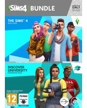The Sims 4 + Discover University Bundle (PC)