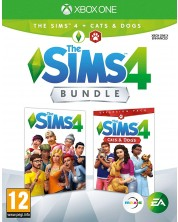 The Sims 4 + Cats & Dogs Expansion Pack Bundle (Xbox One)