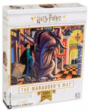 Пъзел New York Puzzle от 1000 части - The Marauders Map -1