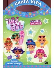 The Mini Girlz: Забавна ваканция (Книга-игра с много сладки стикери)