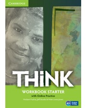 Think Starter Workbook with Online Practice