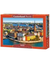 Пъзел Castorland от 500 части - Стокхолм, старият град