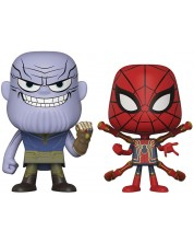 Комплект фигури Funko Pop! Marvel: Avengers - Thanos & Iron Spider, 2 броя
