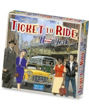 Настолна игра Ticket to Ride - New York -1