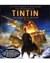 Приключенията на Тинтин 3D + 2D (Blu-Ray) -1
