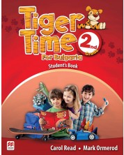 Tiger Time for Bulgaria for the 2-nd grade: Student's Book / Английски език за 2. клас (Учебник)