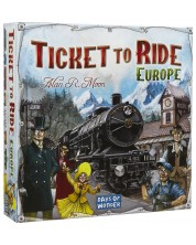 Настолна игра Ticket to Ride - Europe -1