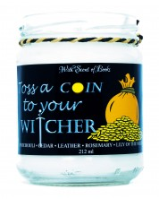 Ароматна свещ The Witcher - Toss a Coin to Your Witcher, 212 ml