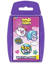 Игра с карти Top Trumps - Pikmi Pops -1