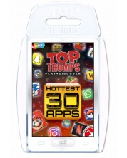 Игра с карти Top Trumps - Hottest Top 30 Apps -1