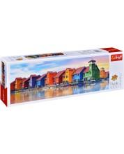 Панорамен пъзел Trefl от 1000 части - Грьонинген -1