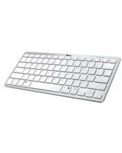 Клавиатура Trust Nado Bluetooth - безжична, бяла -1