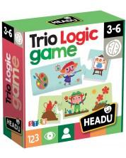Логическа игра Headu - Трио -1