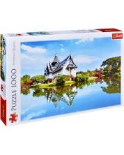 Пъзел Trefl от 1000 части - Дворецът Sanphet Prasat, Тайланд -1