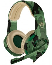 Гейминг слушалки Trust GXT 310C Radius - jungle camo -1