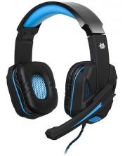 Гейминг слушалки Tracer Battle Heroes - Xplosive Blue, черни
