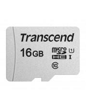 Памет Transcend - 16 GB, microSD -1