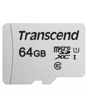 Памет Transcend - 64 GB, microSD -1