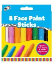 Творчески комплект Galt  - Боички за лице, 8 бр -1