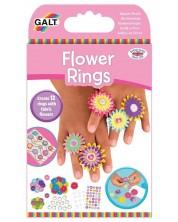 Творчески комплект Galt Toys - Направи сама пръстени, цветя