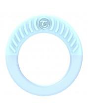 Бебешка чесалка за венци и зъбки Twistshake - Синя, над 1 месец