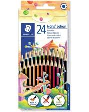 Цветни моливи Staedtler Noris Colour 185 - 24 цвята -1
