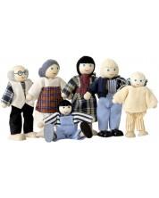 Дървени кукли Woody – Семейство, 6 броя