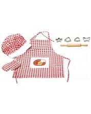 Детски комплект Woody - Малкият готвач -1