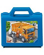 12 пъзелни кубчета – Моите любими превозни средства