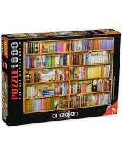 Пъзел Anatolian от 1000 части - Библиотека, Барбара Бер -1
