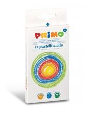 Маслени пастели Primo - 12 цвята