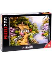 Пъзел Anatolian от 260 части - Къща сред върбите, Сунг Ким