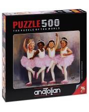 Пъзел Anatolian от 500 части - Малки балерини, Даян Денгъл -1