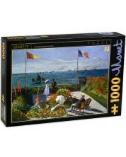 Пъзел D-Toys от 1000 части - Градината в Сант-Адрес, Клод Моне