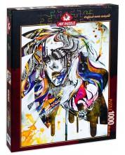 Пъзел Art Puzzle от 1000 части - Блус, Минджа Лий -1