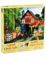 Пъзел SunsOut от 1000 части - Продажба на амишки завивки, Том Ууд -1