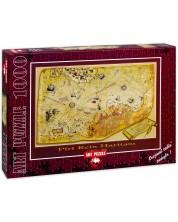 Пъзел Art Puzzle от 1000 части - Георграфска карта, Зафер Кизилкая