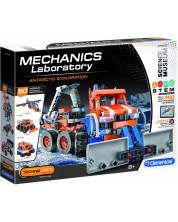 Конструктор Clementoni Mechanics Laboratory - Антарктическа Експедиция, 350 части -1