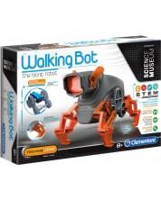 Научен комплект Clementoni Science Museum - Робот Walking Bot -1