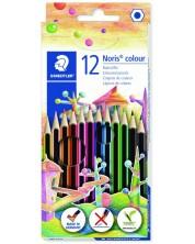Цветни моливи Staedtler Noris Colour 185 - 12 цвята -1