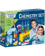 Комплект Clementoni Science & Play - Моята първа химическа лаборатория -1