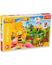 Пъзел Trefl от 24 макси части - В света на пчелата Мая