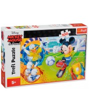 Пъзел Trefl от 100 части - Мики Маус на игрището