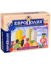 Детска настолна игра PlayLand - ЕвроПолия Класик