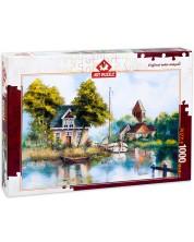Пъзел Art Puzzle от 1000 части - Отново у дома, Рент Уитхар