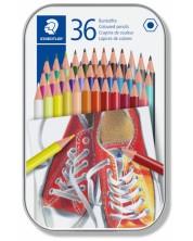 Цветни моливи Staedtler Comic 175 - 36 цвята, в метална кутия -1